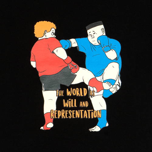 Ashcroft 'THE WORLD AS WILL AND REPRESENTATION' T-SHIRTS (BLACK)