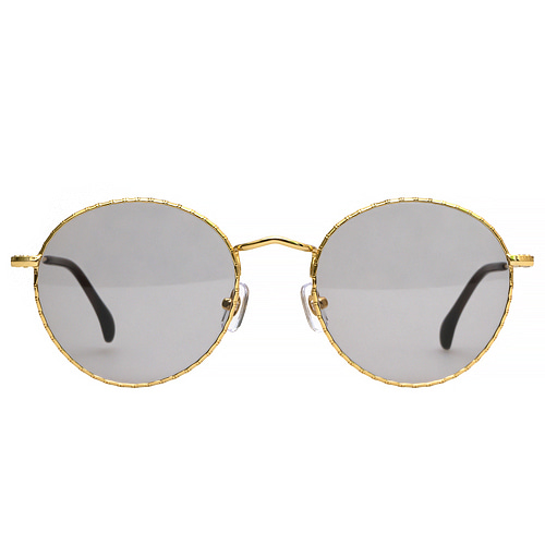Holden Caulfield 51(Bambu) - Yellow Gold(Gray Tint Lens)