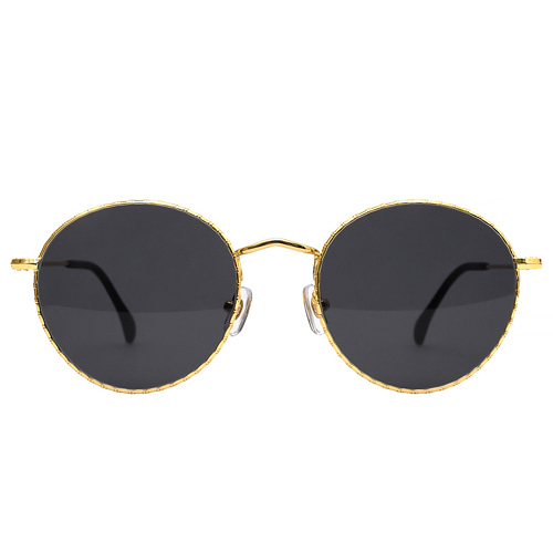Holden Caulfield 51(Bambu) - Yellow Gold(Smoke Black Lens)