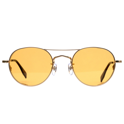 HENRY CHINASKI 2019 Upgrade version - Matt Gold(Yellow Tint Sunglasses)