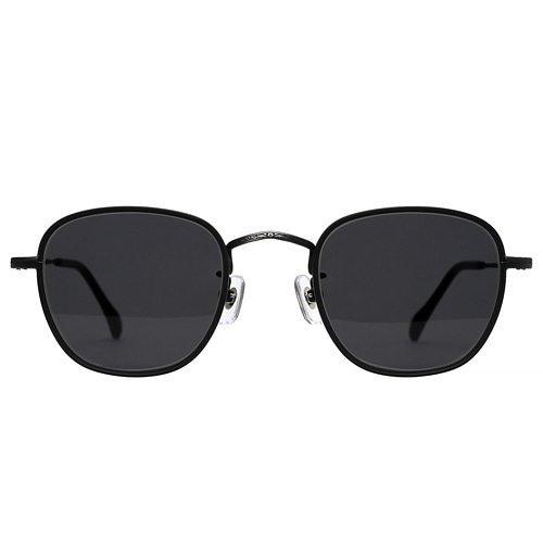 Akutagawa 2019 - Matt Black(Smoke Black Sunglasses)