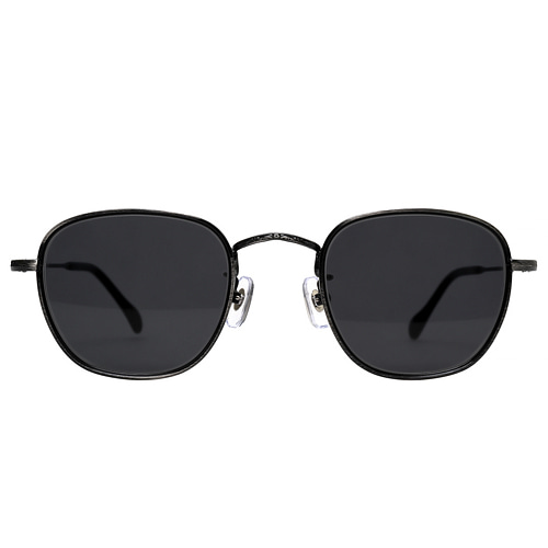 Akutagawa 2019 - Glossy Washed Black(Smoke Black Sunglasses)